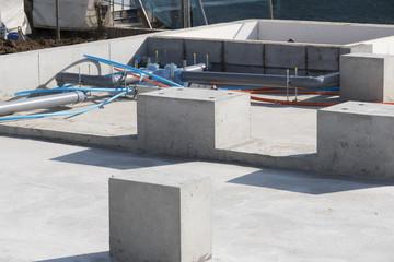住宅 木造住宅 基礎工事の配筋 ベタ基礎