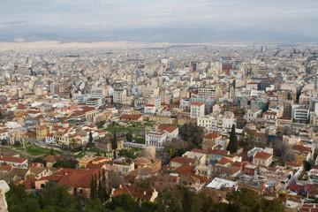 Athene vista panoramica