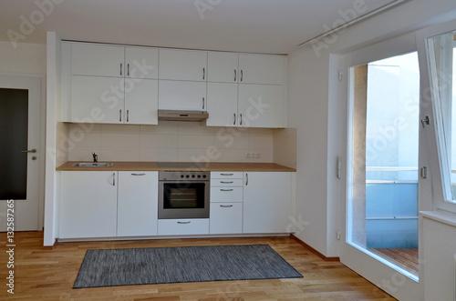 neue k che stockfotos und lizenzfreie bilder auf bild 132587265. Black Bedroom Furniture Sets. Home Design Ideas