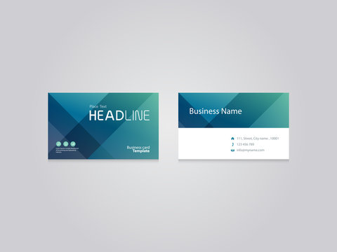 abstract business card design template  backgrounds .vector eps 10 for editable