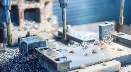 metal drilling and tapping