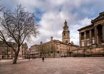 Preston Town Lancashire, England