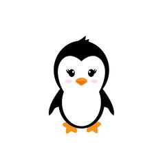 cartoon cute penguin girl