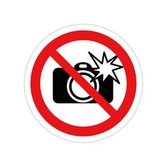 Photo et flash interdit