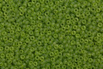 Olie seed beads.