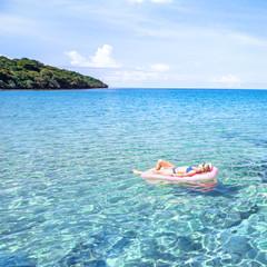 happy beach holidays on paradise island