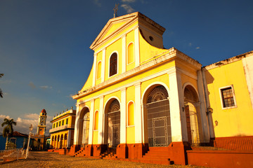 The main church of Trinidad / UNESCO World Heritage