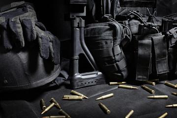 ammo to machine gun and ammunitions