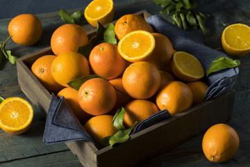Raw Organic Orange Oranges