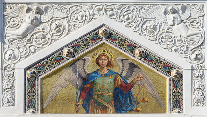 Mosaic of Saint Michael, Trieste