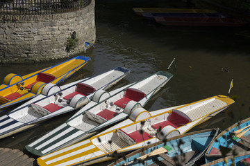 Paddle Boats, Thames River, Oxford