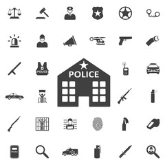 Police station icon.