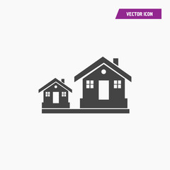 House icon illustration isolated vector sign symbol