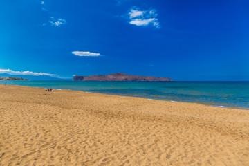 Kato Stalos beach, Chania prefecture, Western Crete, Greece
