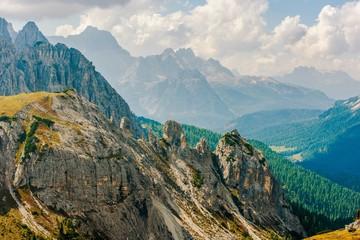 Wall Mural - Dolomites Mountain Range