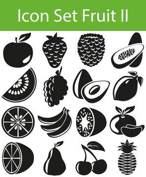 Icon Set Fruit II
