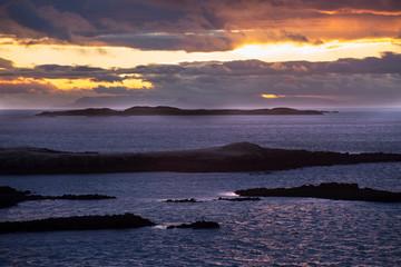 Snaefellsnes Peninsula Sunset
