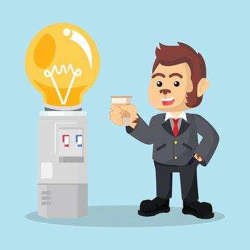 business monkey bulb dispenser