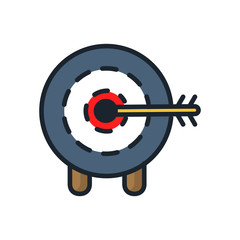 arrow on target icon color