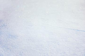Blurred winter snow background.