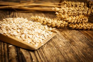 Oatmeal and grains