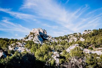 Les Alpilles près des Baux de Provence