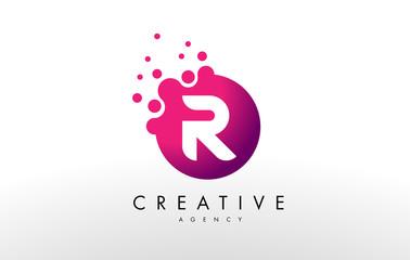 Letter R Logo. R Letter Design Vector