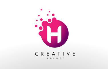 Letter H Logo. H Letter Design Vector