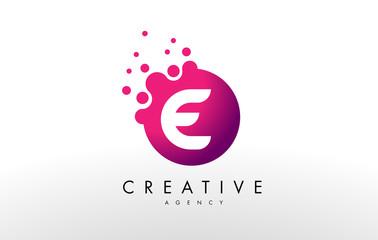 Letter E Logo. E Letter Design Vector