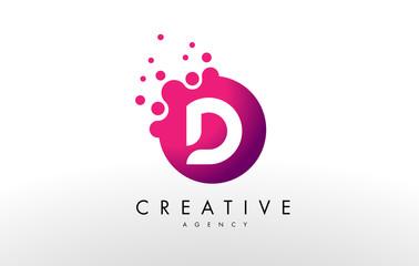 Letter D Logo. D Letter Design Vector