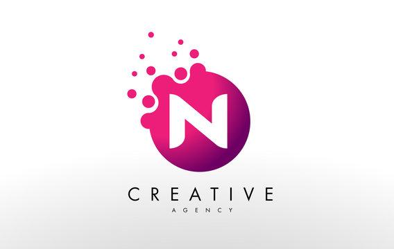 Letter N Logo. N Letter Design Vector