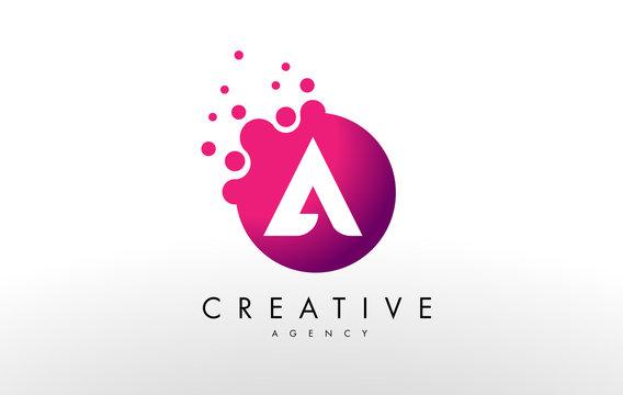 Letter A Logo. A Letter Design Vector
