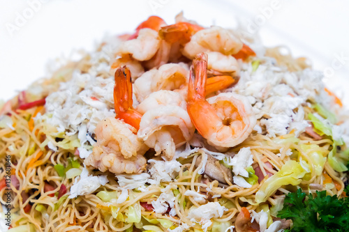 how to make seafood rice noodles