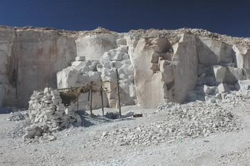 The old quarry of Toconao