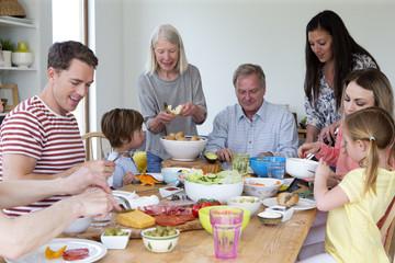 Family Lunch Platter