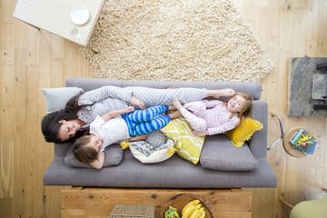 Sofa Cuddles with Mum