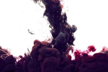 Ink drop in water