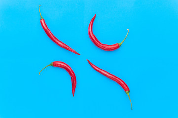pop art red pepper