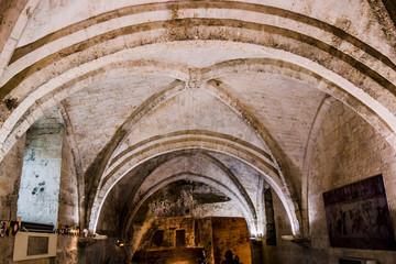 La chapelle Saint-Blaise aux Baux-de-Provence