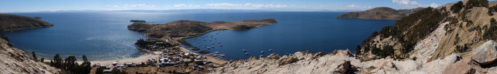 Île du soleil, Bolivie