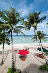 グアムのココパームガーデンビーチ