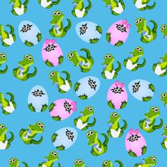 baby crocodile or alligator