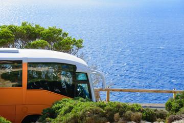 mit dem bus zum meer