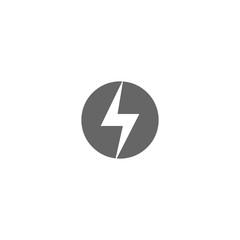 Grey lightning logo
