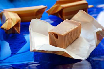 Cioccolatino al caramello mou