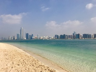 Foto op Canvas Abu Dhabi Abu Dhabi, Strand