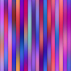 Parallel Gradient Stripes. Seamless Multicolor Pattern.