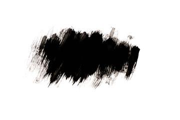 Schwarzes Wasserfarben Muster