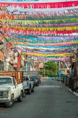 rue colorée medellin