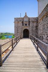Eingang Castillo de Jagua, Cienfuegos, Kuba